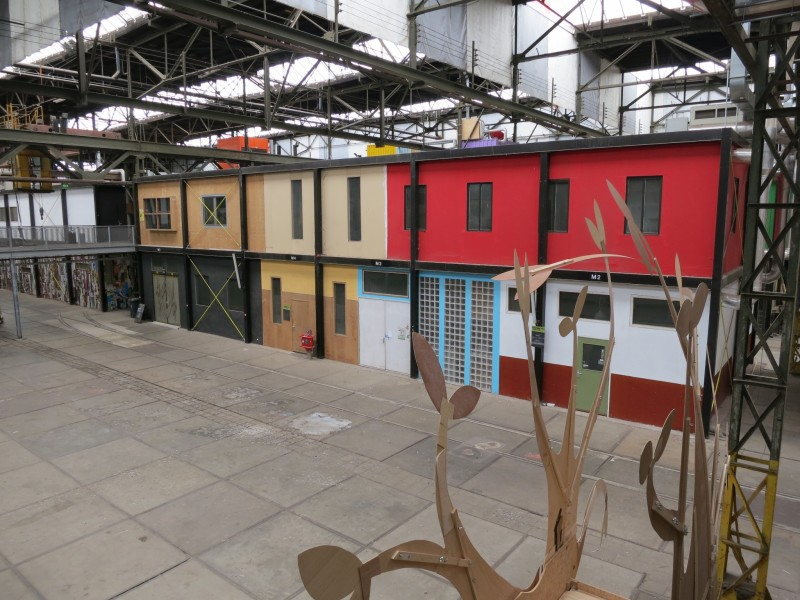 Things to do in amsterdam visit the ndsm werf for Dormire amsterdam