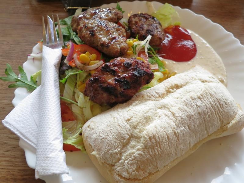 Lamb Burger at Broodje Bert