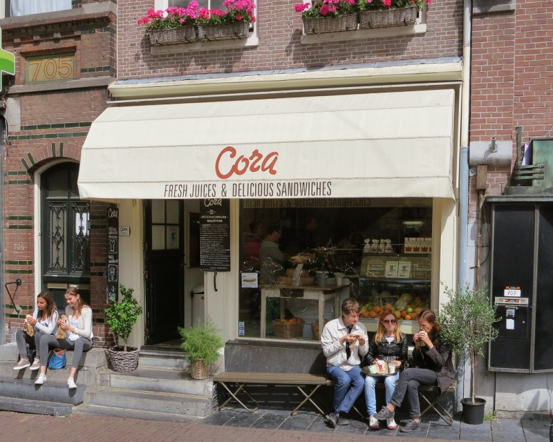 Cora places to eat in Amsterdam