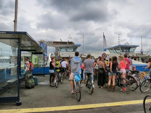 Ferry to NDSM Werf Amsterdam