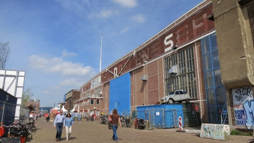 Lasloods at NDSM Werf Amsterdam