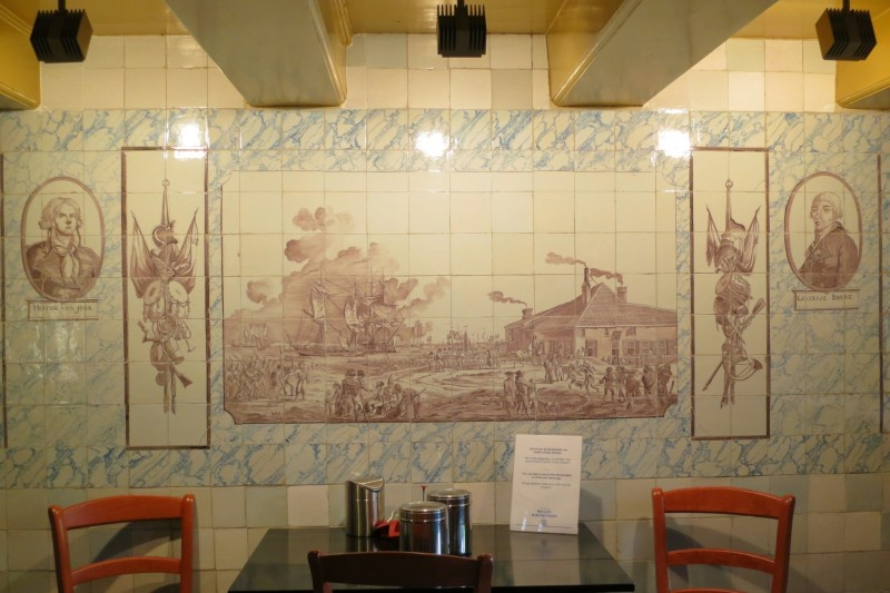 Tiled Kitchen Wall Willet-Holthuysen Amsterdam