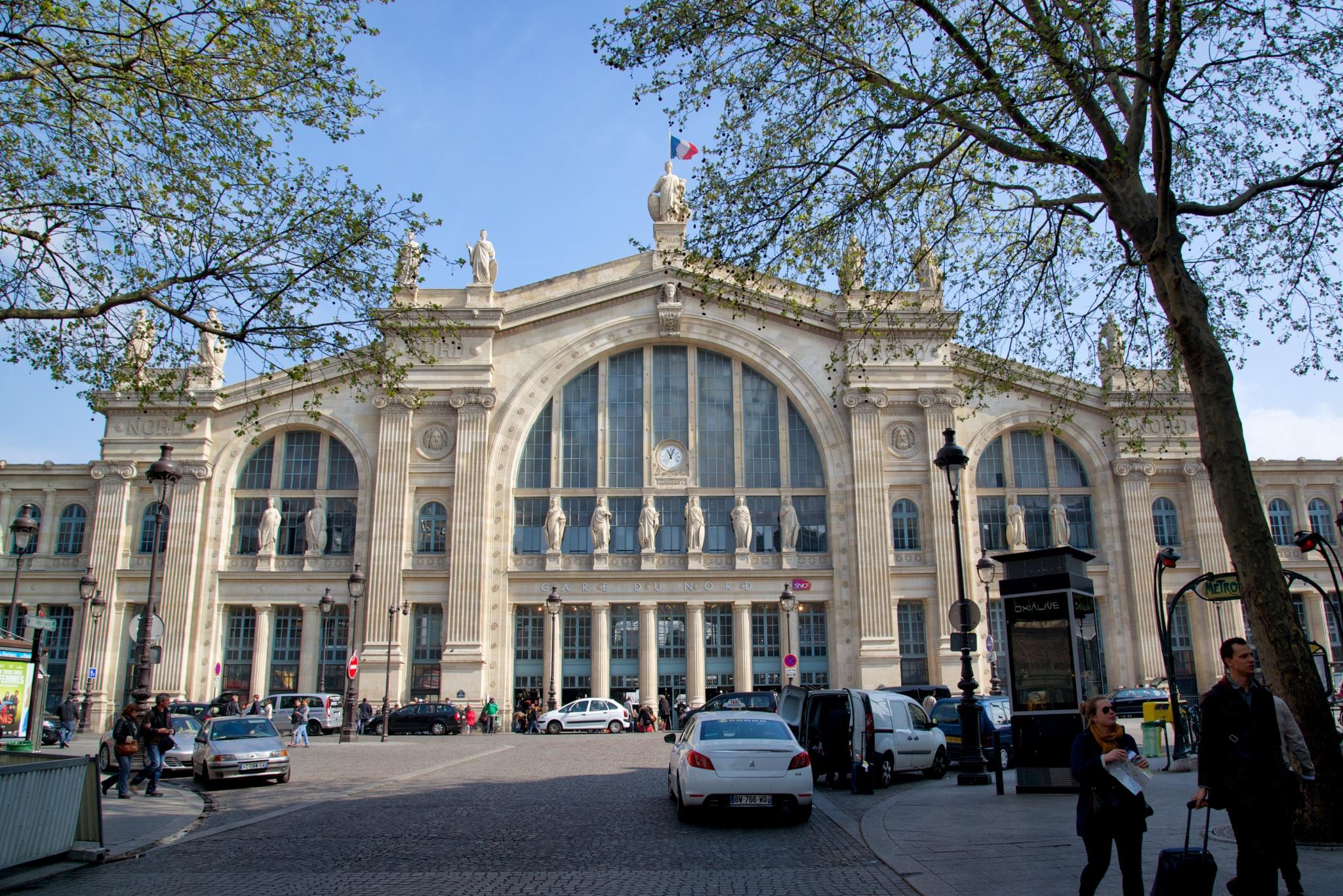 gare du nord paris. Black Bedroom Furniture Sets. Home Design Ideas