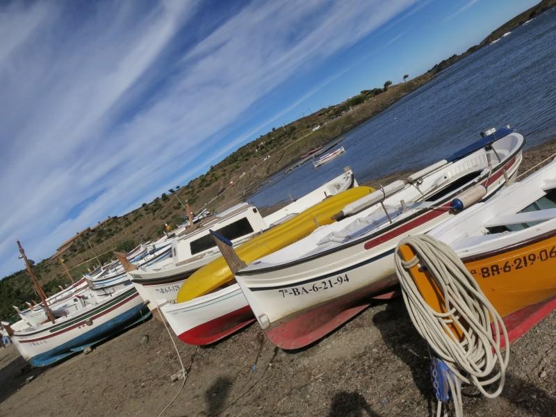 Boats at Portlligat