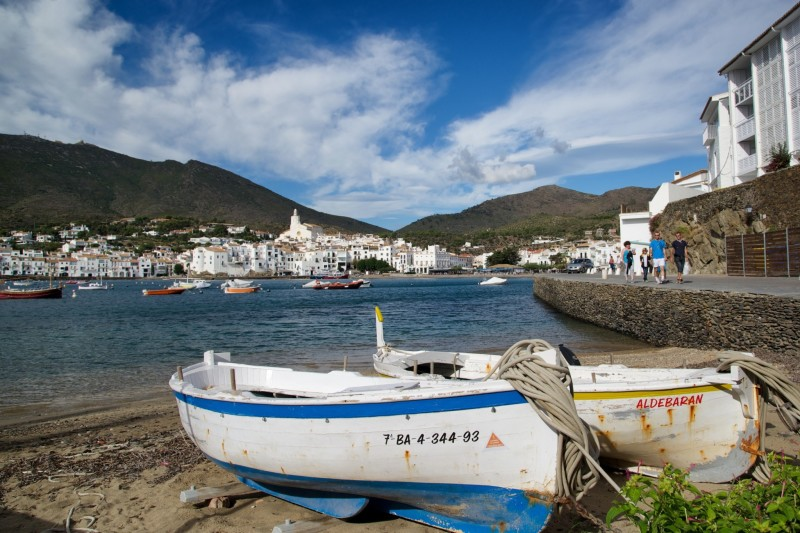 Cadaqués Spain Boats on Beach