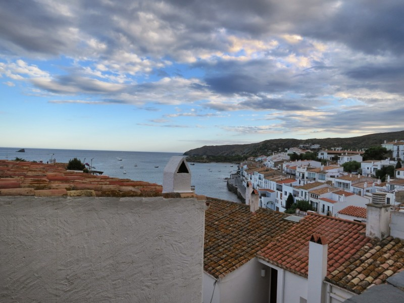 Cadaqués Spain Rooftop and Sunset