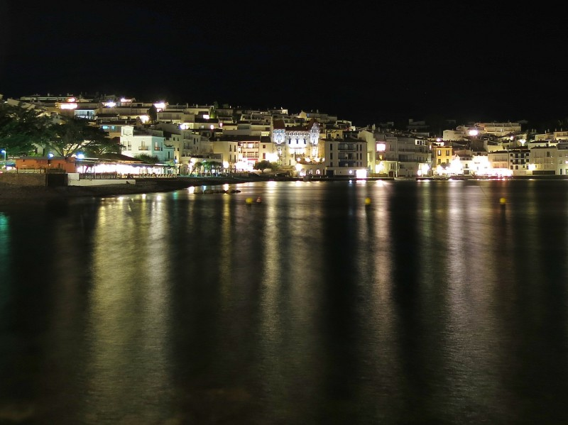 Cadaqués Spain at Night