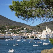 View of Cadaqués From East Side Walk