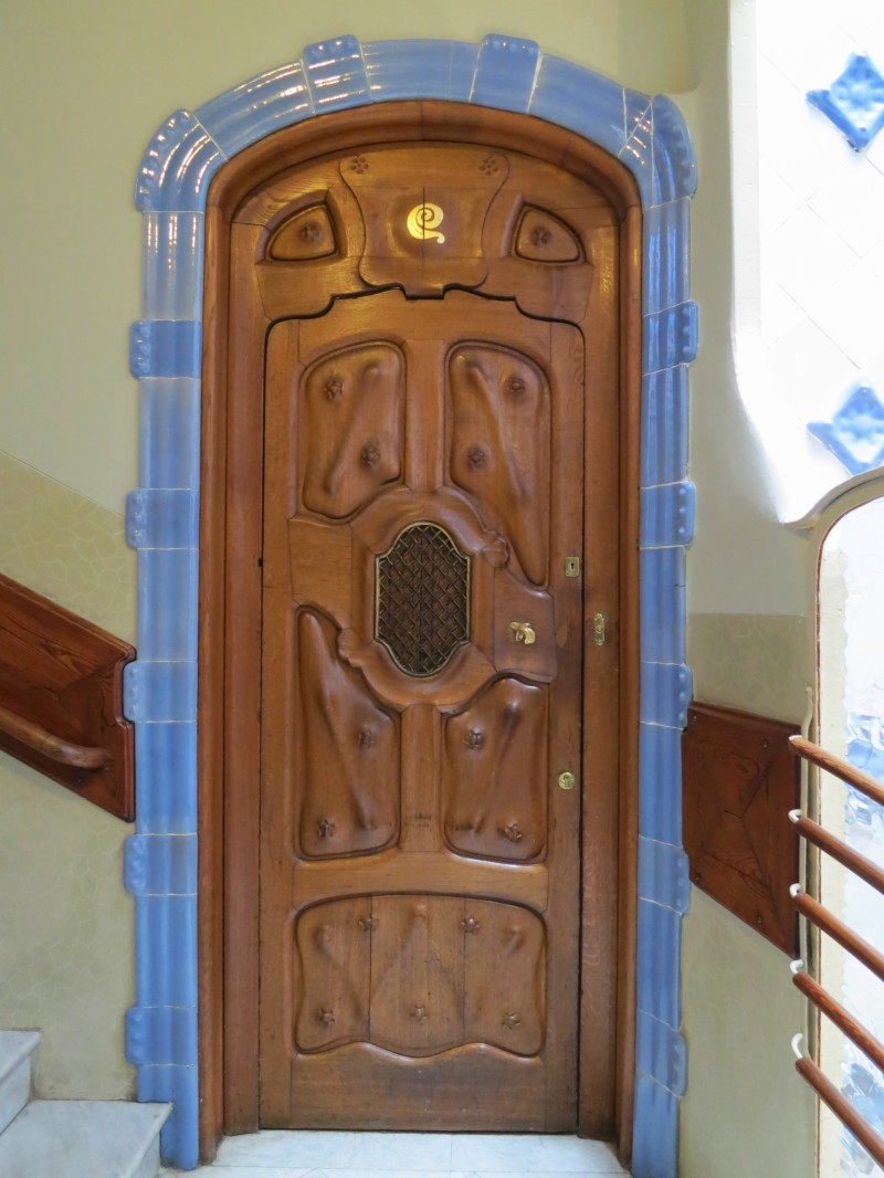 Casa Batllo Apartment Door
