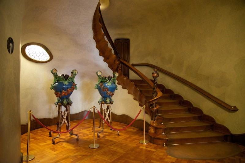 Casa Batllo Grand Stairway