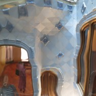 Casa Batllo Light Well Through Translucent Glass