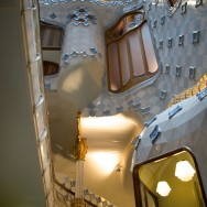 Casa Batllo Light Well and Stairs