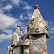 Casa Batllo Roof Exhaust