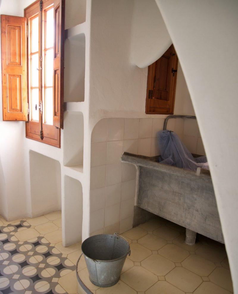 Laundry room Casa Batllo Barcelona
