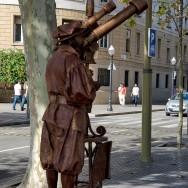 Living Statue of Galileo