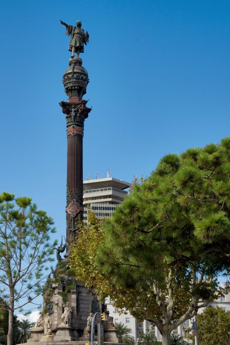 Mirador de Colom Barcelona Spain