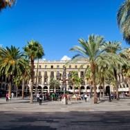 Plaça Reial Barcelona Spain
