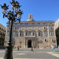 Plaça Sant Jaume Barcelona Spain