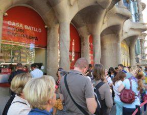Ticket line Casa Batllo Barcelona