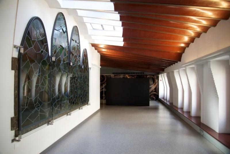 Attic Palau Güell Barcelona Spain