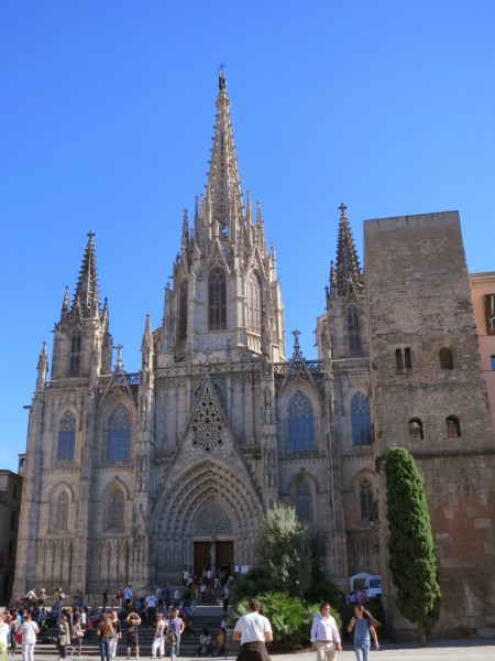Barcelona Cathedral of the Holy Cross and Saint Eulalia