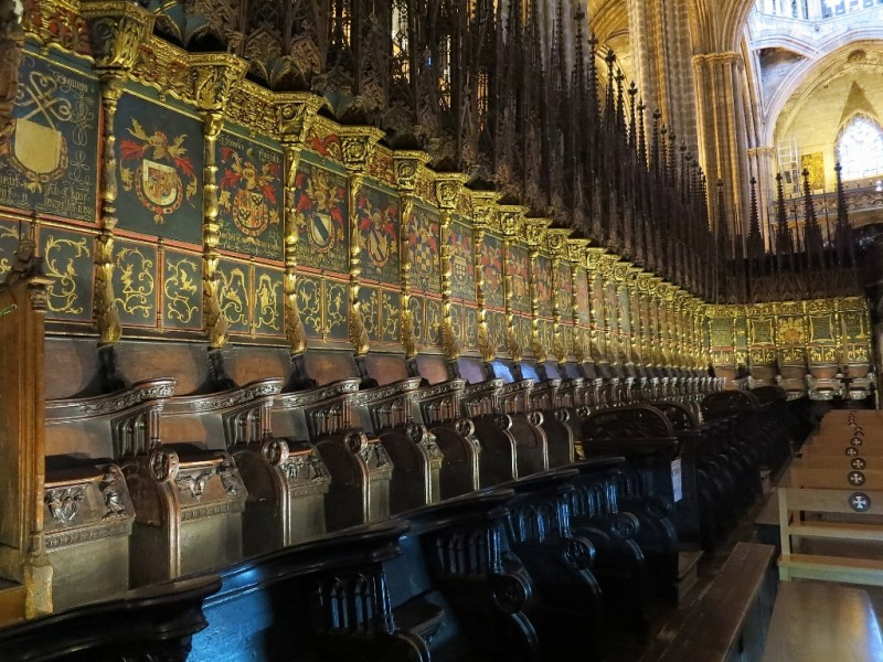 Choir Stalls Barcelona Cathedral