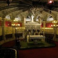 Crypt of Saint Eulalia Barcelona Cathedral