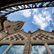 Exterior View Cloister La Sagrada Familia Barcelona