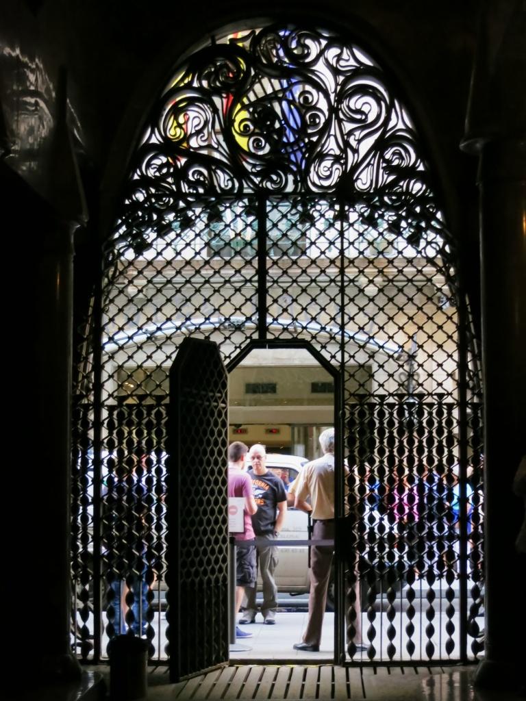 Main Gate Palau Güell Barcelona Spain