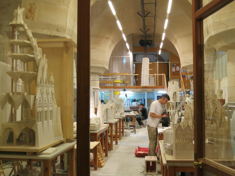 makers Workshop La Sagrada Familia Museum Spain