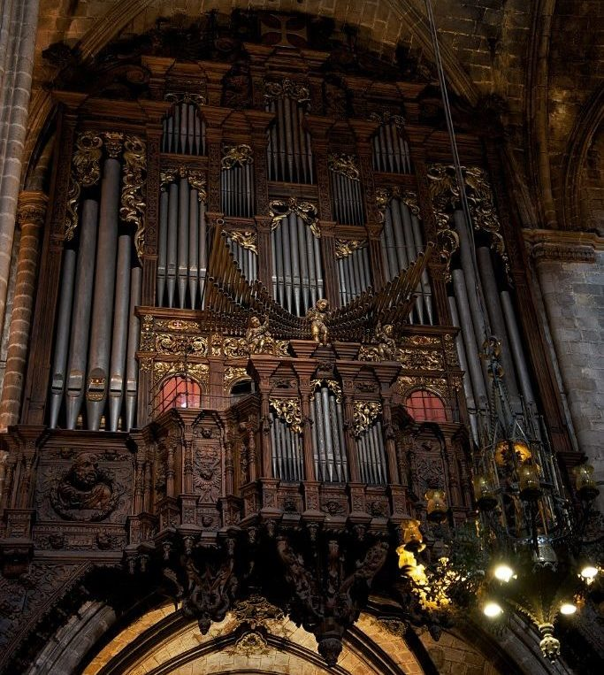 Organ Barcelona Cathedral