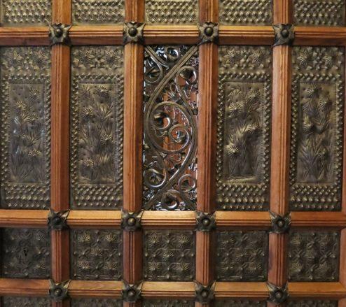 Peephole Palau Güell Barcelona Spain