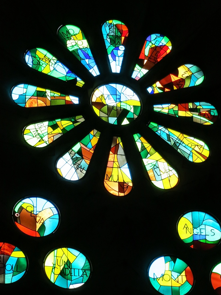 Rose Window La Sagrada Familia Barcelona