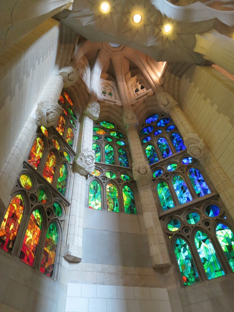 Stained Glass La Sagrada Familia Barcelona