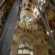 Stained Glass Windows La Sagrada Familia Barcelona