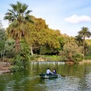 Boat on the Lake Parc de la Ciutadella Barcelona