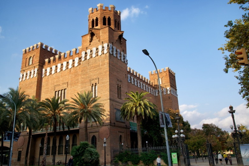 Castell dels Tres Dragons Barcelona Spain