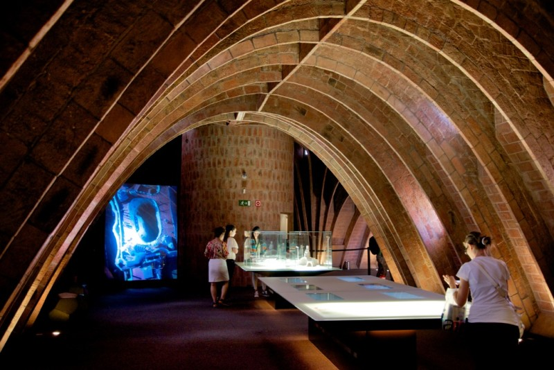 Espai Gaudí Arches La Pedrera Barcelona Spain