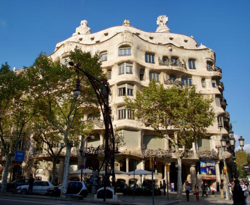 Facade La Pedrera Barcelona