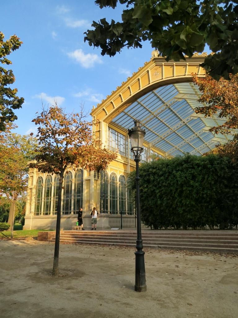 Hivernacle Parc de la Ciutadella Barcelona Spain