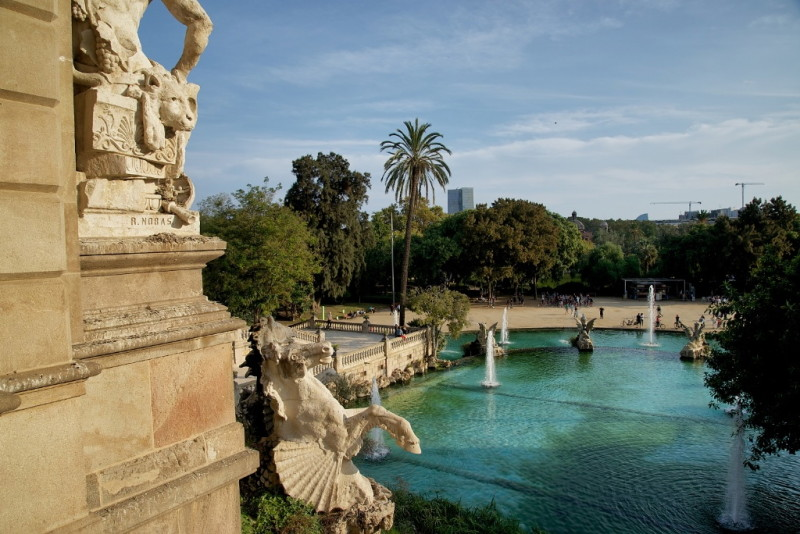 La Cascada Fountains Parc de la Ciutadella Barcelona Spain