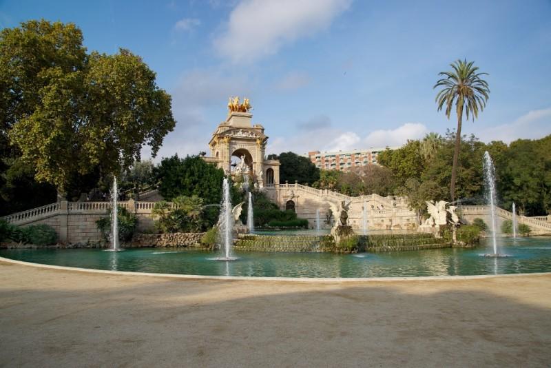 La Cascada Parc de la Ciutadella Barcelona Spain
