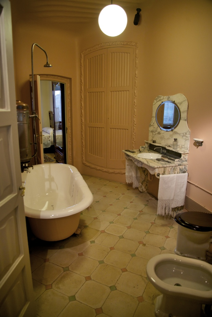 La Pedrera Apartment Bathroom Barcelona Spain