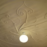 La Pedrera Apartment Ceiling Detail Barcelona Spain