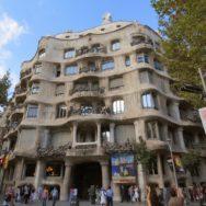La Pedrera-Casa Milà Front Exterior Barcelona Spain