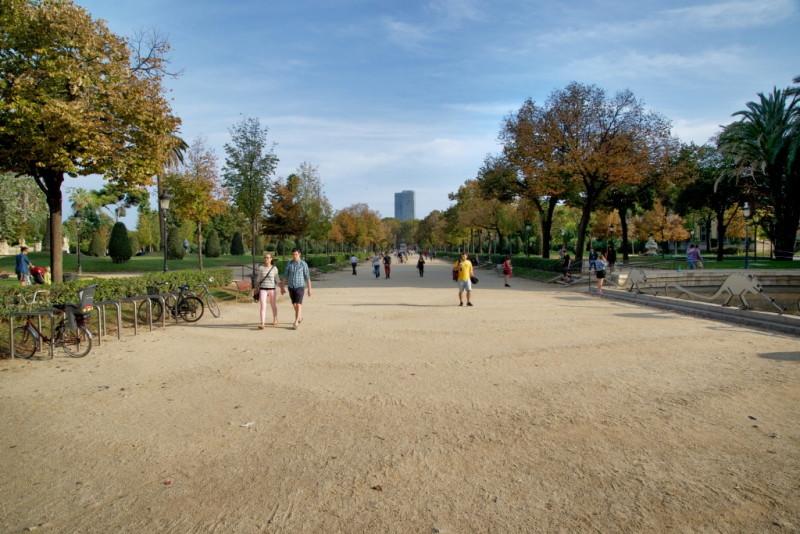 Parc de la Ciutadella Barcelona Spain