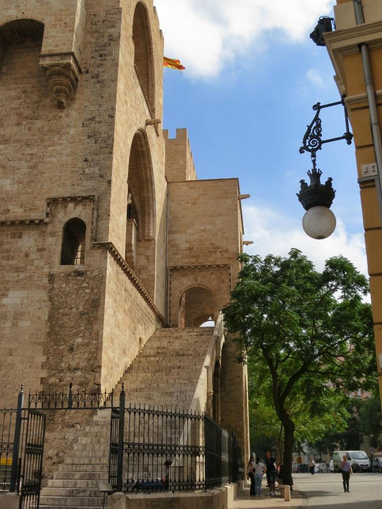 Torres de Serranos Entrance Valencia Spain