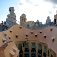Undulating Roof La Pedrera-Casa Milà Barcelona Spain