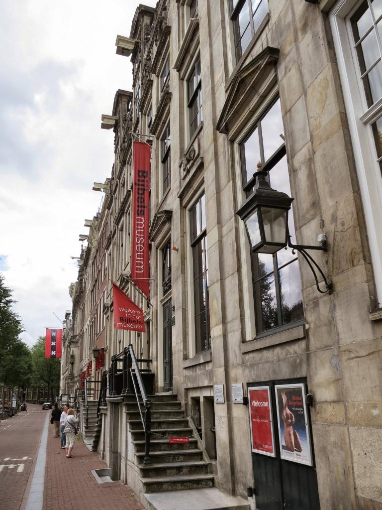Cromhouthuizen-Bijbels Museum Entrance Amsterdam