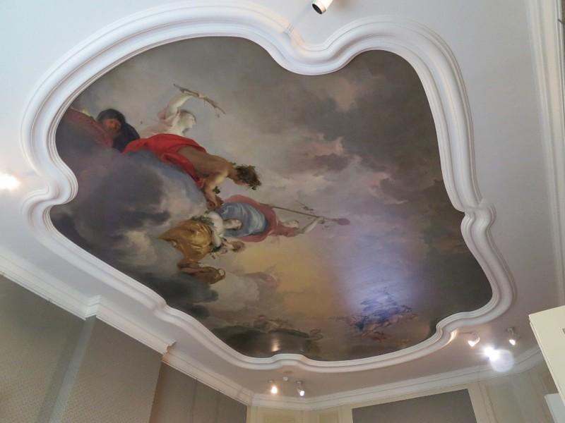 Painted Ceiling Cromhouthuizen-Bijbels Museum Amsterdam